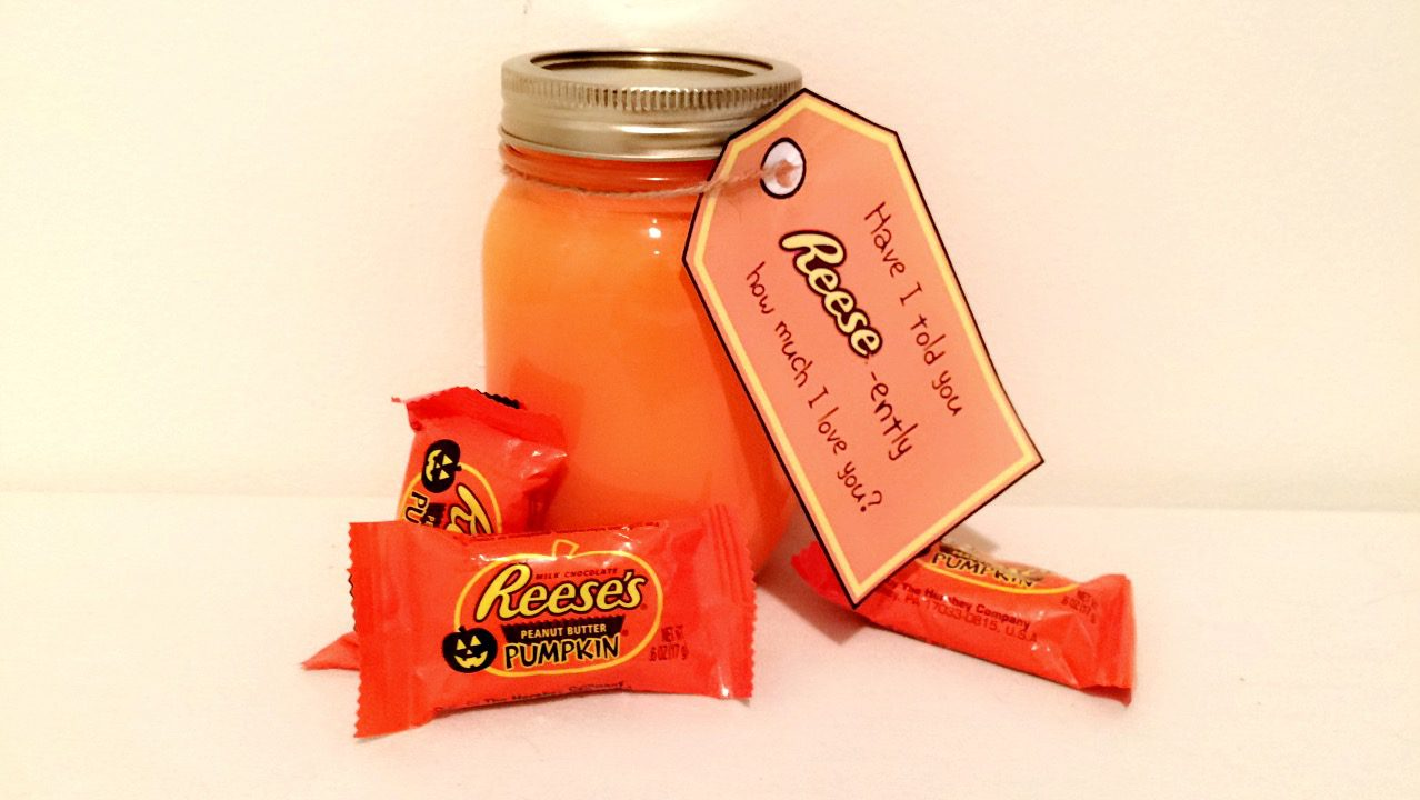 [DIY – Reese's Mason Jar Gift With Free Printable]