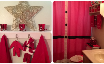 Christmas Bathroom