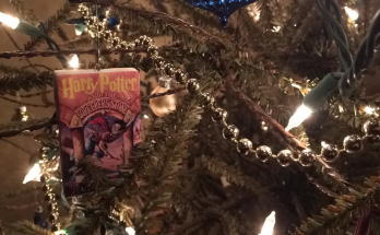 DIY - Harry Potter Book Cover Ornament